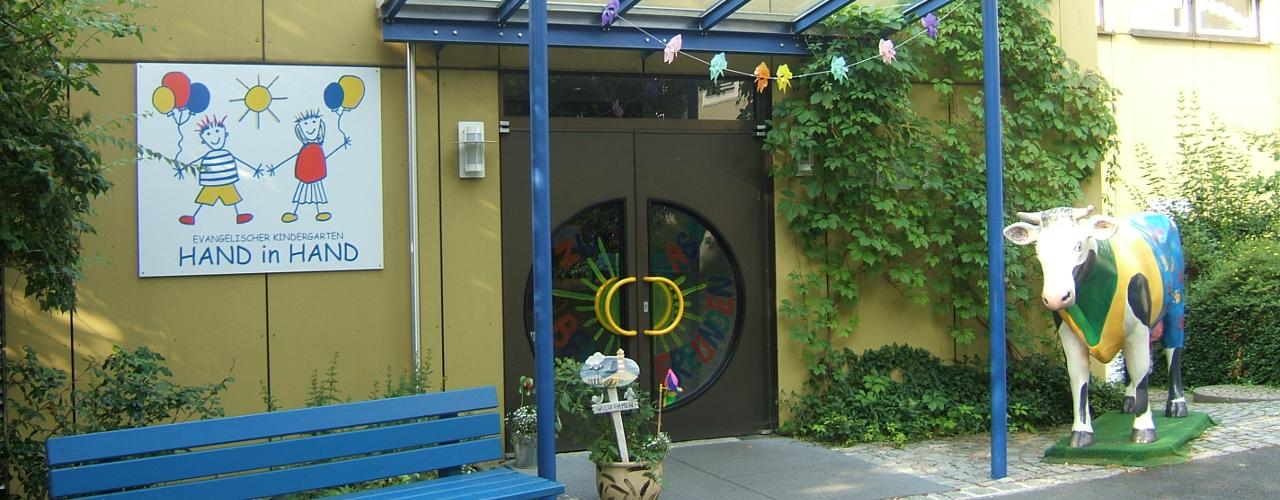 Eingang vom Kindergarten